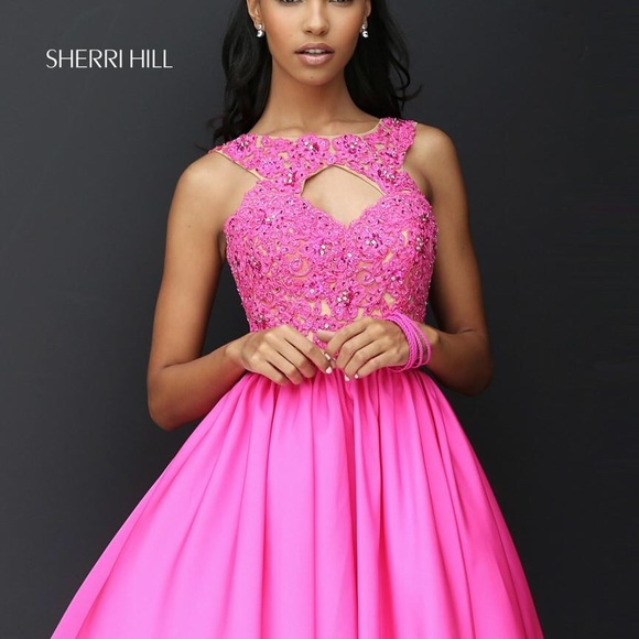 2018 Cheap Sherri Hill Short Prom Dresses